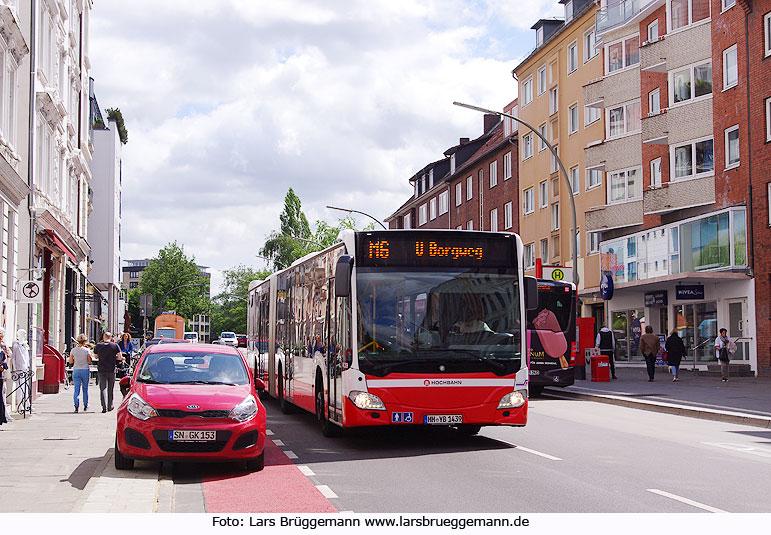 die buslinie 108 heute metrobus 6 in hamburg von der innenstadt richtung goldbekplatz und zur. Black Bedroom Furniture Sets. Home Design Ideas
