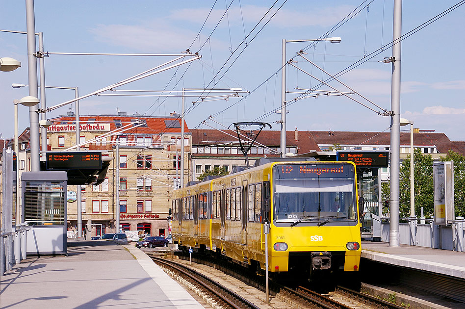 Stuttgart straßenbahn