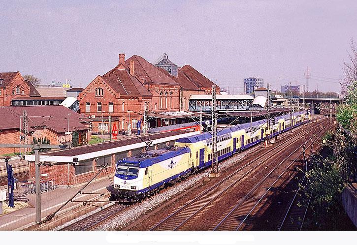 Der Bahnhof Hamburg Harburg